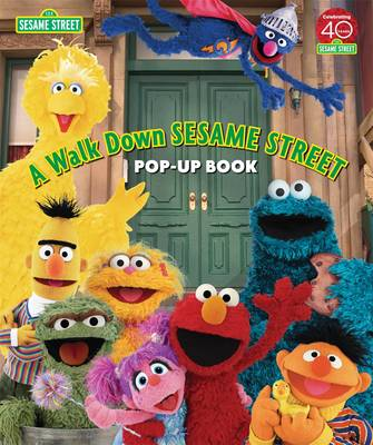 "A Walk Down ""Sesame Street"": Pop-up Book (Hardback)"