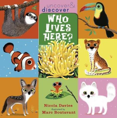 Who Lives Here? - Uncover and Discover (Paperback)