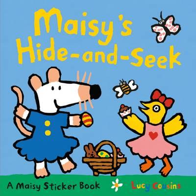 Maisy's Hide & Seek Sticker Book (Paperback)