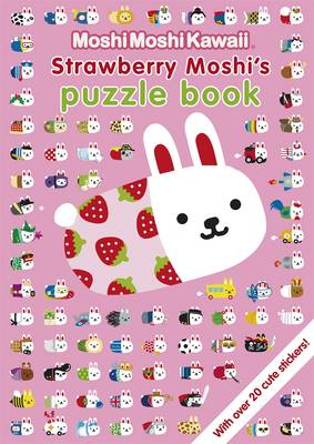 MoshiMoshiKawaii: Strawberry Moshi's Puzzle Book (Paperback)