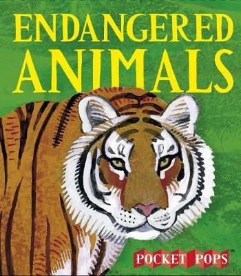 Endangered Animals: A Three-Dimensional Expanding Pocket Guide (Hardback)