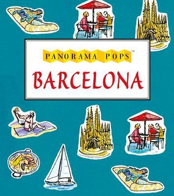 Barcelona: Panorama Pops - Panorama Pops (Hardback)