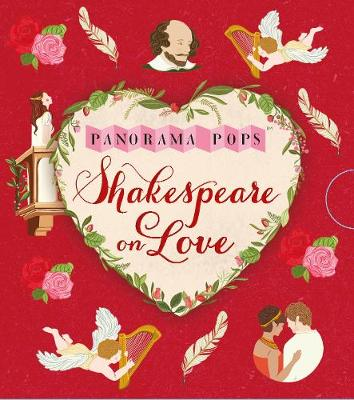 Shakespeare on Love: Panorama Pops - Panorama Pops (Hardback)