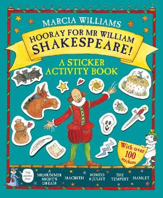 Hooray for Mr William Shakespeare!: A Sticker Activity Book (Paperback)