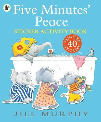 Five Minutes' Peace Sticker Activity Book - Large Family (Paperback)