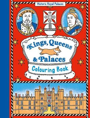 Kings, Queens and Palaces Colouring Book (Paperback)