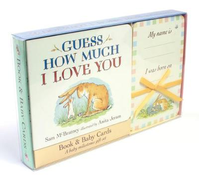 Guess How Much I Love You: Book & Baby Cards Milestone Moments Gift Set - Guess How Much I Love You