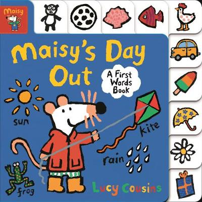 Maisy's Day Out: A First Words Book - Maisy (Board book)