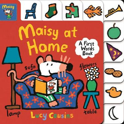 Maisy at Home: A First Words Book (Board book)
