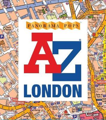 A-Z London: Panorama Pops (Hardback)