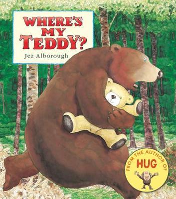 Where's My Teddy? - Eddy and the Bear (Board book)