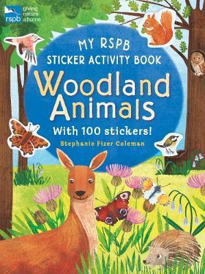 My RSPB Sticker Activity Book: Woodland Animals (Paperback)