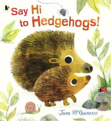 Say Hi to Hedgehogs! - Nature Storybooks (Paperback)
