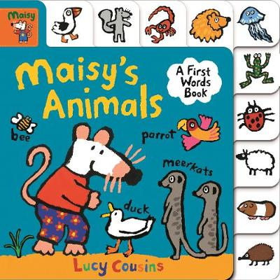 Maisy's Animals: A First Words Book - Maisy (Board book)