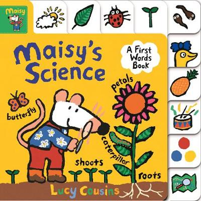 Maisy's Science: A First Words Book - Maisy (Board book)