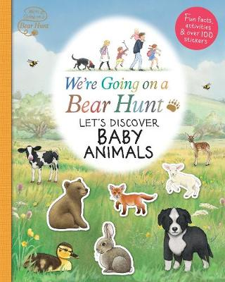 We're Going on a Bear Hunt: Let's Discover Baby Animals (Paperback)