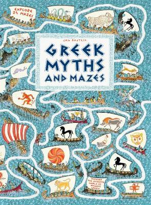 Greek Myths and Mazes - Walker Studio (Hardback)
