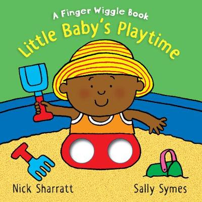 Little Baby's Playtime: A Finger Wiggle Book (Board book)