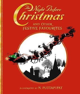 The Night Before Christmas and Other Festive Favourites (Hardback)