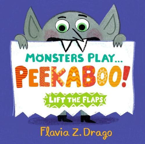 Monsters Play... Peekaboo! (Board book)