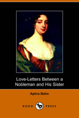 Love-Letters Between a Nobleman and His Sister (Paperback)