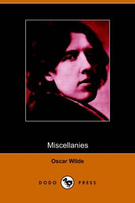 Miscellanies (Paperback)