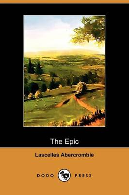 The Epic: An Essay (Paperback)