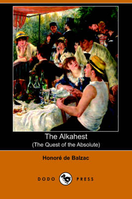 The Alkahest: The Quest of the Absolute (Paperback)