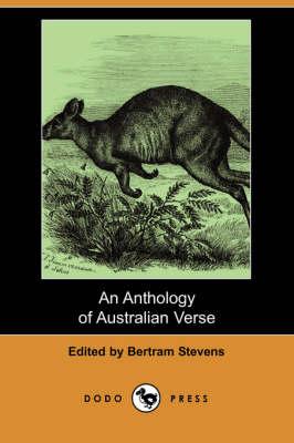 An Anthology of Australian Verse (Dodo Press) (Paperback)