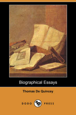 Biographical Essays (Dodo Press) (Paperback)