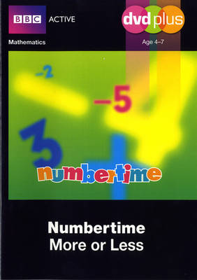 Numbertime More or Less DVD Plus Pack - Numbertime