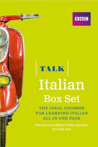Talk Italian Box Set (Book/CD Pack): The ideal course for learning Italian - all in one pack - Talk