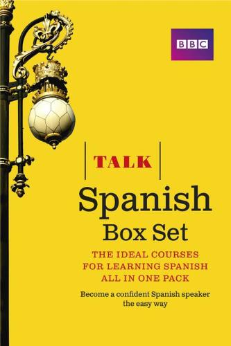 Talk Spanish Box Set (Book/CD Pack): The ideal course for learning Spanish - all in one pack - Talk
