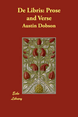 de Libris: Prose and Verse (Paperback)