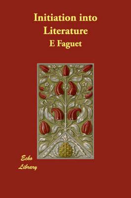 Initiation Into Literature (Paperback)