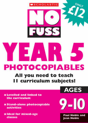 Year 5 Photocopiables - No Fuss Photocopiables (Paperback)