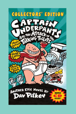 """""""Captain Underpants"""" and the Attack of the Talking Toilets and CD - Captain Underpants"""