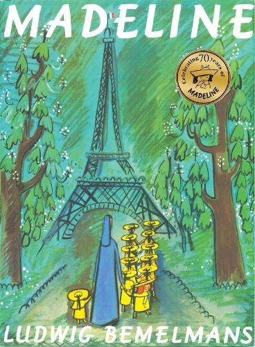 Cover of the book, Madeline.