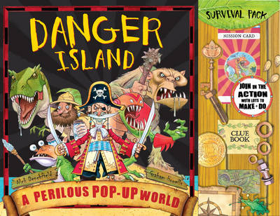 Danger Island: Perilous Pop-up World (Hardback)