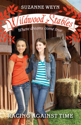 Racing Against Time - Wildwood Stables (Paperback)