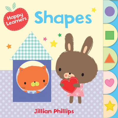 Shapes - Happy Learners (Board book)