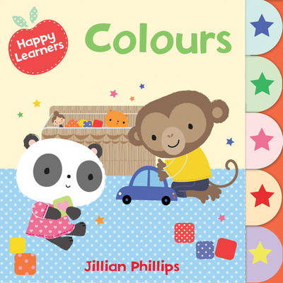 Colours - Happy Learners (Board book)