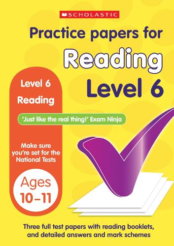 Reading Level 6 - Practice Papers National Tests (Paperback)