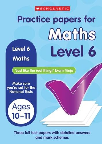 Maths Level 6 - Practice Papers National Tests (Paperback)