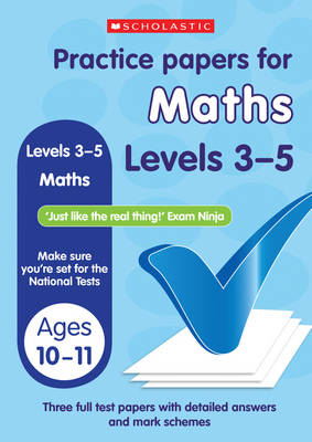 Maths (Levels 3-5) - Practice Papers National Tests (Paperback)
