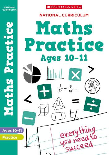 National Curriculum Maths Practice Book for Year 6 - 100 Practice Activities (Paperback)