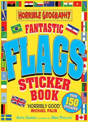 Fantastic Flags Sticker Book (Paperback)