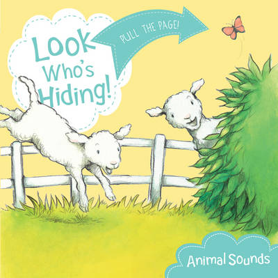 Look Who's Hiding: Animal Sounds (Board book)