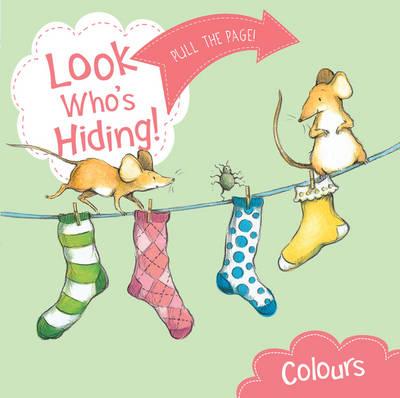 Look Who's Hiding: Colours (Board book)