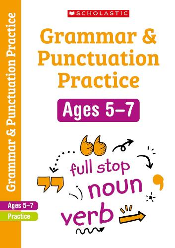 Grammar and Punctuation Years 1-2 Workbook - Scholastic English Skills (Paperback)